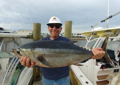 Charlie Hayek and 18 lb tuna!